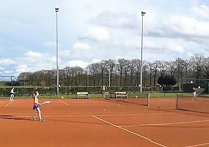 tennisbaanverlichting